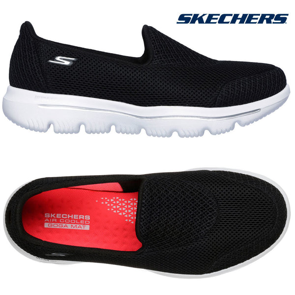 Womens Skechers GOwalk Evolution Shoes Soft Lightweight Ladies Trainers