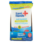 Brand New Sani Wipes Antimicrobial Hand Wipes (whole box of 120) 10 packs Of 12