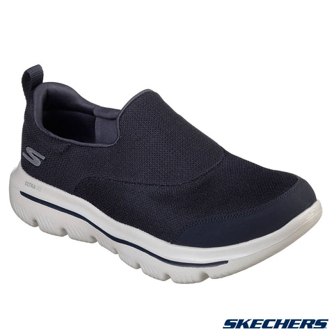 Mens Skechers GOwalk Evolution Ultra Rapids Trainers Shoes Navy Size 7-12