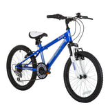 Kids Sonic Blade 20 Inch 50.8 cm 6 Speed Gear V Brakes Childrens Mountain Bikes