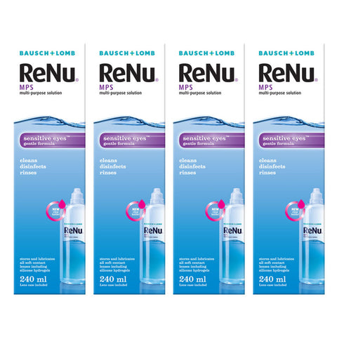 Bausch & Lomb ReNu MPS Gentle Contact Lens Solution