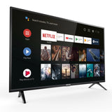 TCL Smart Android TV 32 Inch HD Ready HDR with Google Assistant in Black