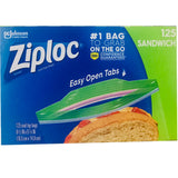 Ziploc Freezing Bags