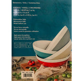 Capri Set Of 4 Porcelain Pasta Bowl Set Piece Salad Cereal Bowl Set – 4 Colours