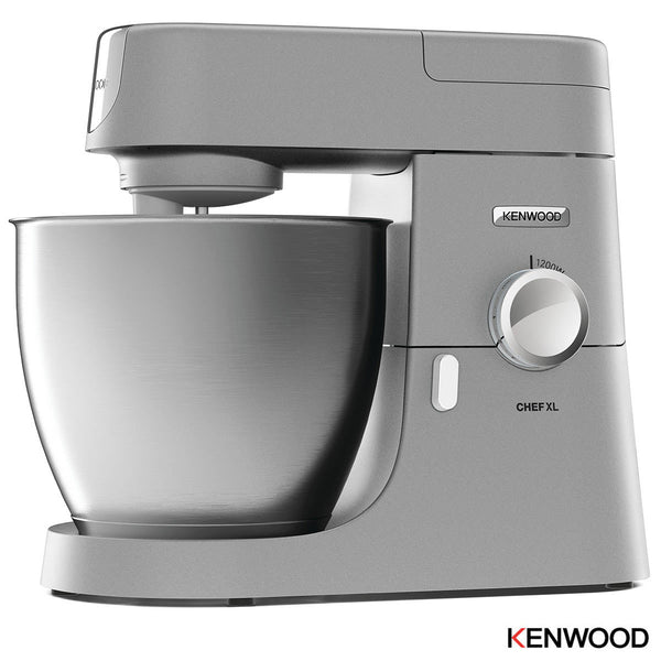 Kenwood Chef Premier XL Non Stick 6.7 Litre Whisking and Mixing Bowl Silver Stand Mixer