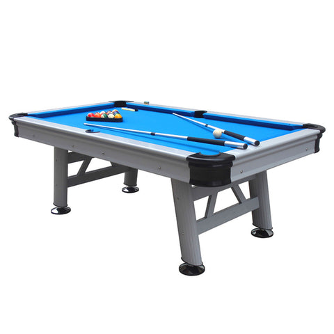 Heavy-duty 7ft Professional Gaming Outdoor-indoor Astral Pool Table In Blue
