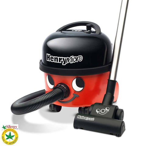 Henry Micro Vacuum Cleaner with Hairo Brush, HVR200M