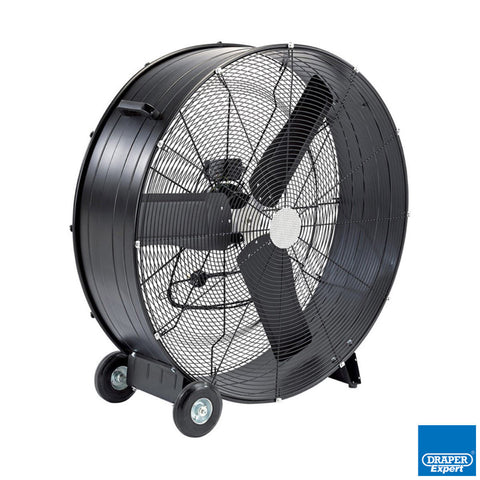 "Draper 36"" Industrial High Velocity Drum Fan"