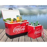 Stainless steel Coca-Cola Ice Chest Bundle