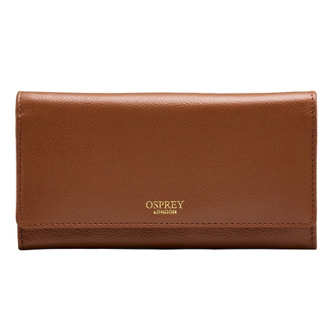 Osprey Nappa Tan Leather Women's Purse