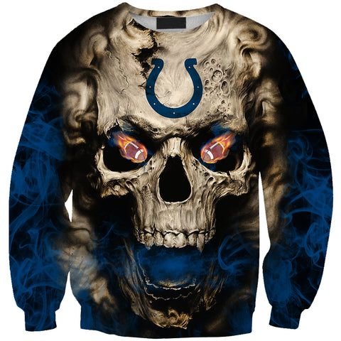 INDIANAPOLIS COLTS MEN'S CLASSIC 3D SWEATER