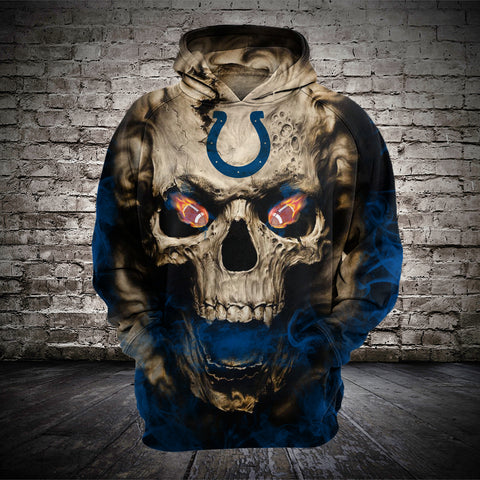 INDIANAPOLIS COLTS MEN'S CLASSIC 3D HOODIE