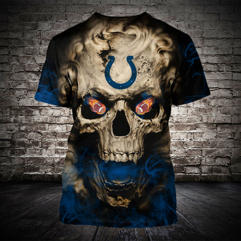 INDIANAPOLIS COLTS MEN'S CLASSIC 3D T-SHIRT