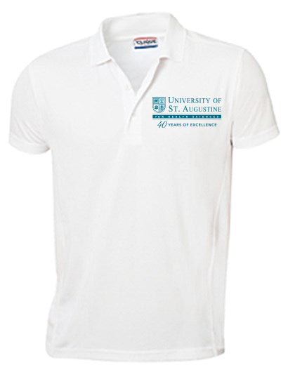 USAHS / 40 Years of Excellence  - Men's Polo Shirt