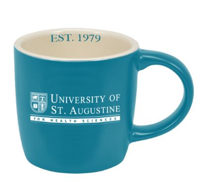 USAHS Custom glazed 14 oz Coffee Cup