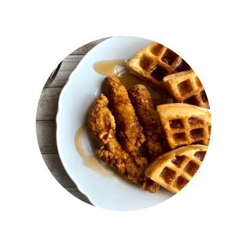 Chicken & Waffles- Keto Style