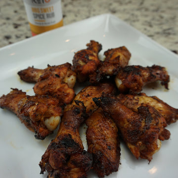 BBQ Chicken Wings: