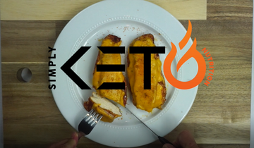 Sweet & Spicy Keto BBQ Chicken