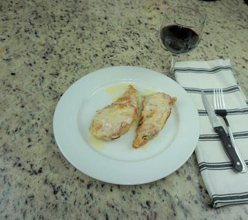 Sauteed Chicken in White Wine