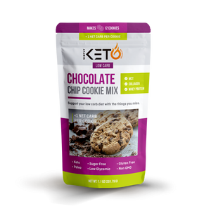 Chocolate Chip Cookie Mix: Low Carb & Keto Friendly