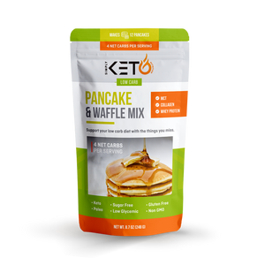 Pancake & Waffle Mix: Low Carb & Keto Friendly