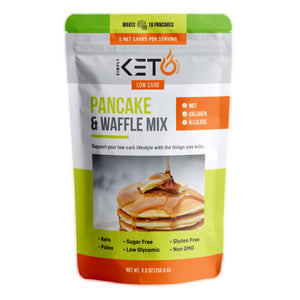 New And Improved Original Pancake & Waffle Mix: Low Carb & Keto-Friendly