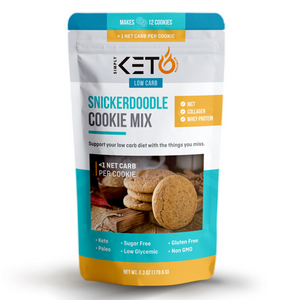 Keto Snickerdoodle Cookie Mix
