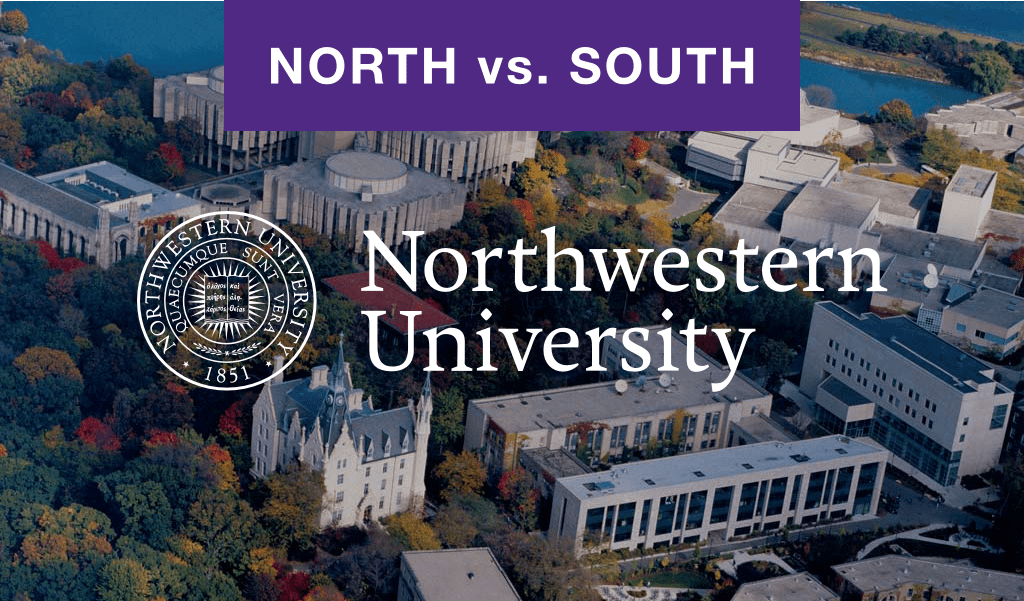 Northwestern university north and campus