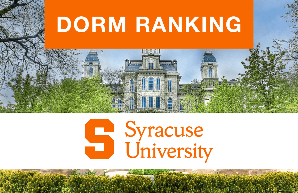 Syracuse University dorm ranking