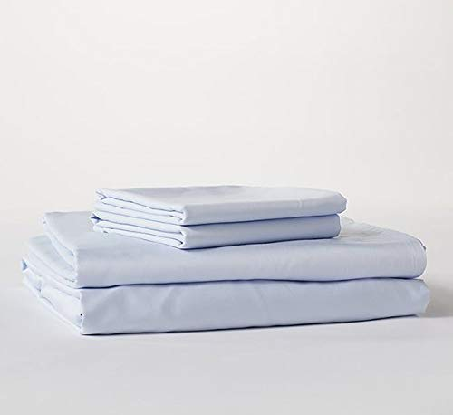 Bokser Sky Blue Luxury Twin XL Bed Sheets Set - 500 Thread