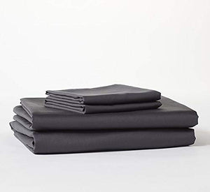 Bokser Shadow Grey Luxury Twin XL Bed Sheets Set - 500 Thread