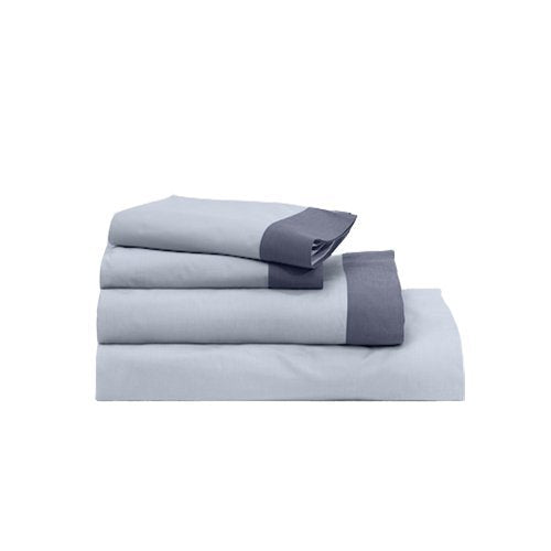 Casper Sleep Soft and Durable Supima Cotton Sheet Set, Twin XL, Sky/Azure