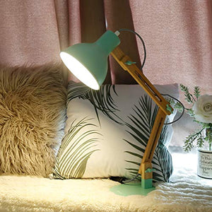 Tomons Swing Arm Desk Lamp - Green