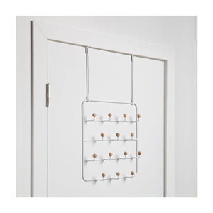 Estique Over-The-Door Multi-Use Organizer, White