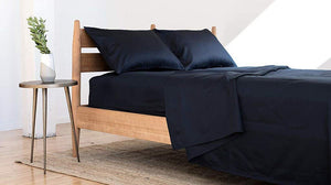 Bokser Navy Luxury Twin XL Bed Sheets Set - 500 Thread