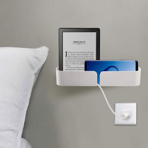 Adhesive Bedside Wall Organizer / Storage Caddy