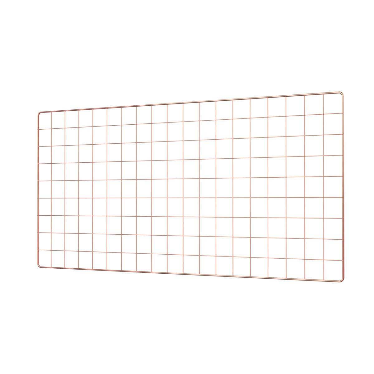 Large Wire Photo Grid Display - Rose Gold