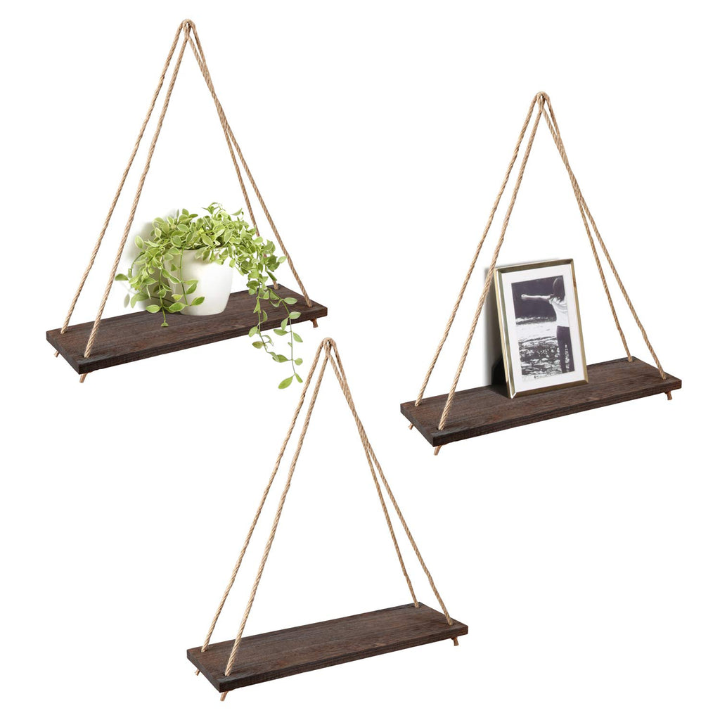 Nordic Wood Foating Wall Shelf