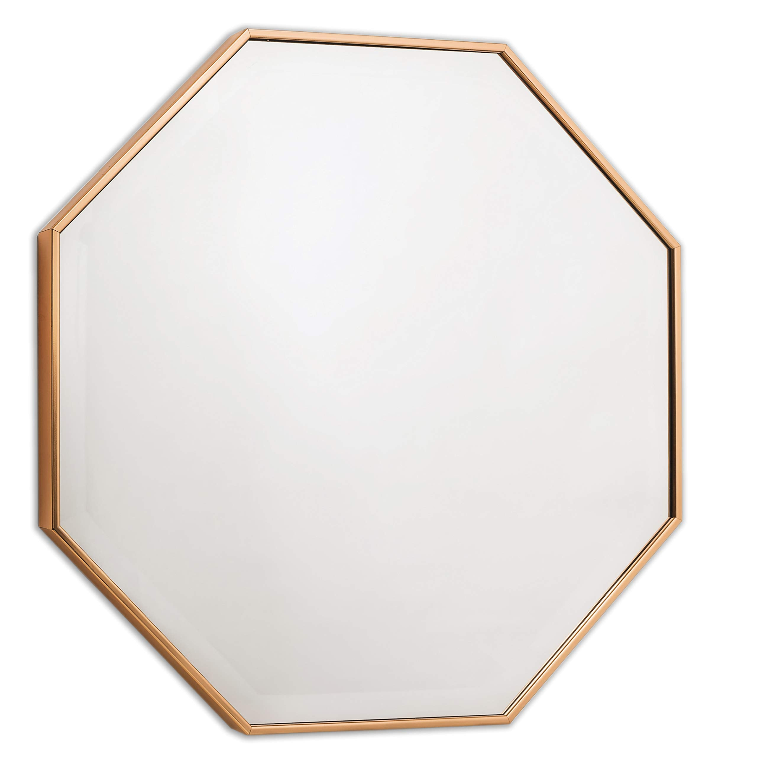 Wall Mirror - Bronze Octagon Frame