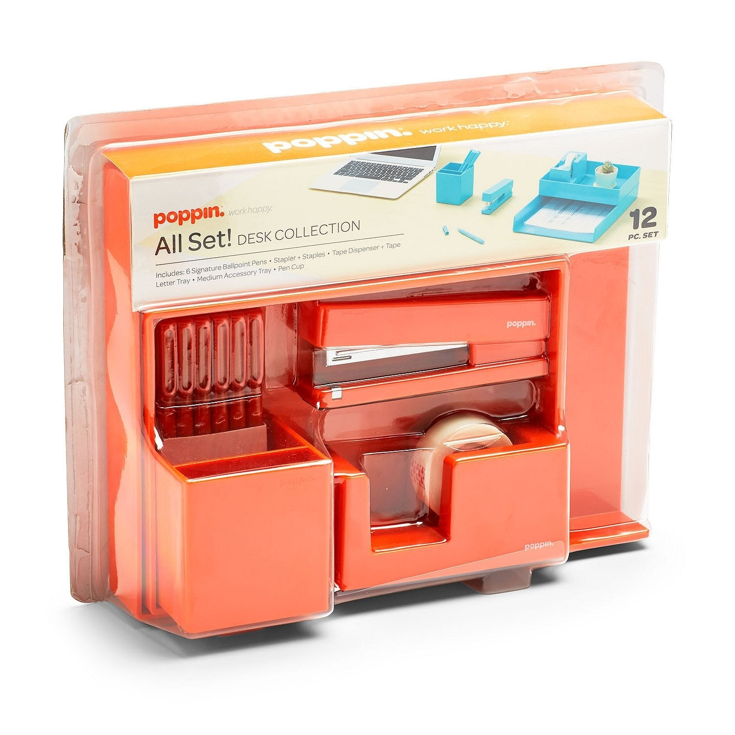 Fresh Start Desk Collection Orange