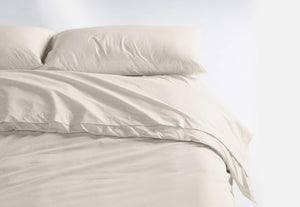 Casper Sleep Soft and Durable Supima Cotton Sheet Set, Twin XL, Cream