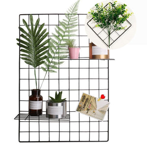 Black Wire Grid Organization Panel Pack