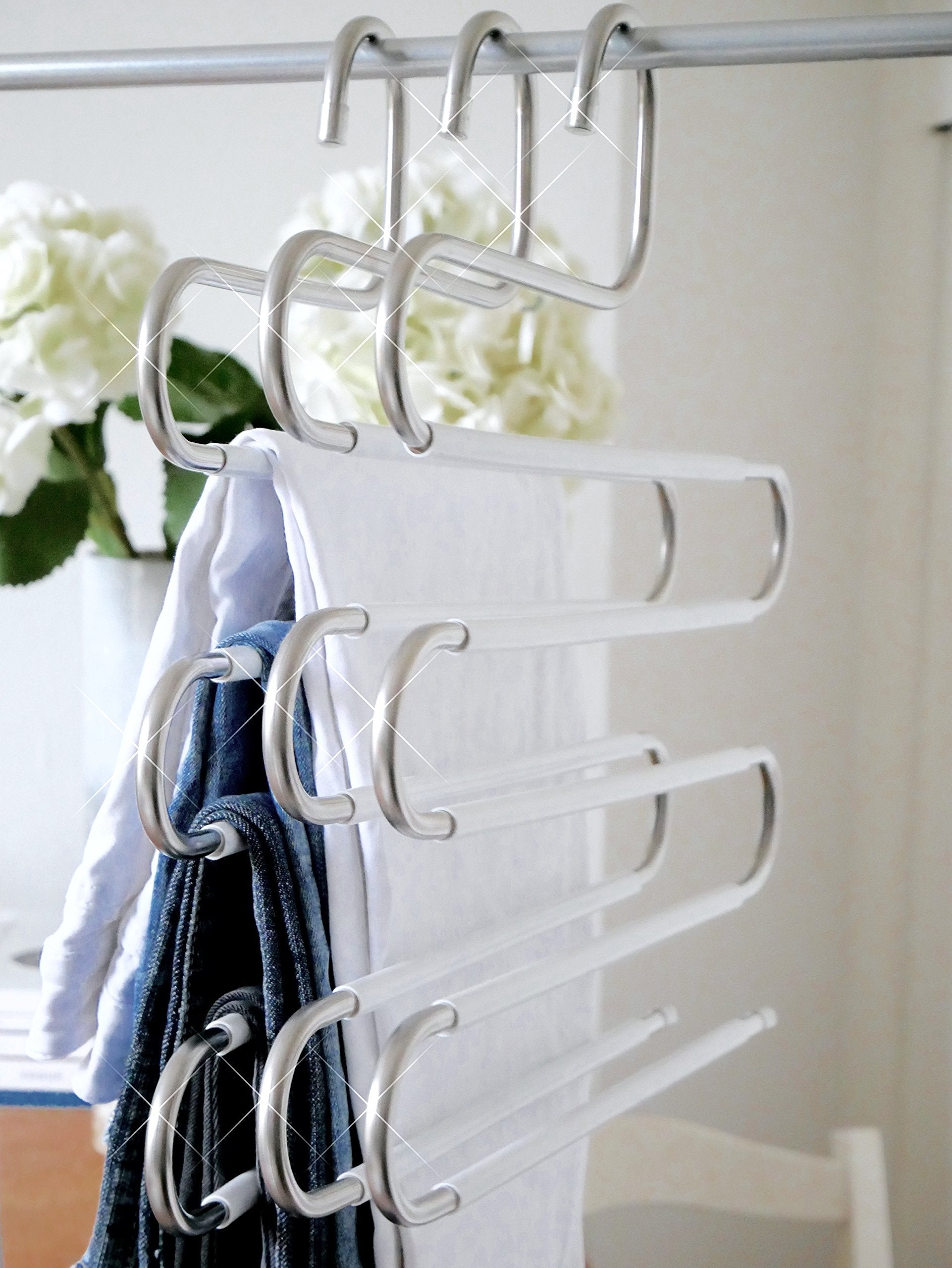 S-Shape 5 Layer Steel Multi-purpose Hanger
