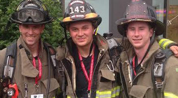 CLIMBING 110 STORIES, REMEMBERING 343 BROTHERS