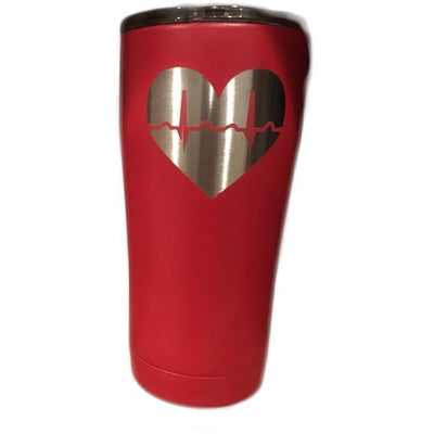 PERSONALIZED EKG RHYTHM SIC 20OZ TUMBLER