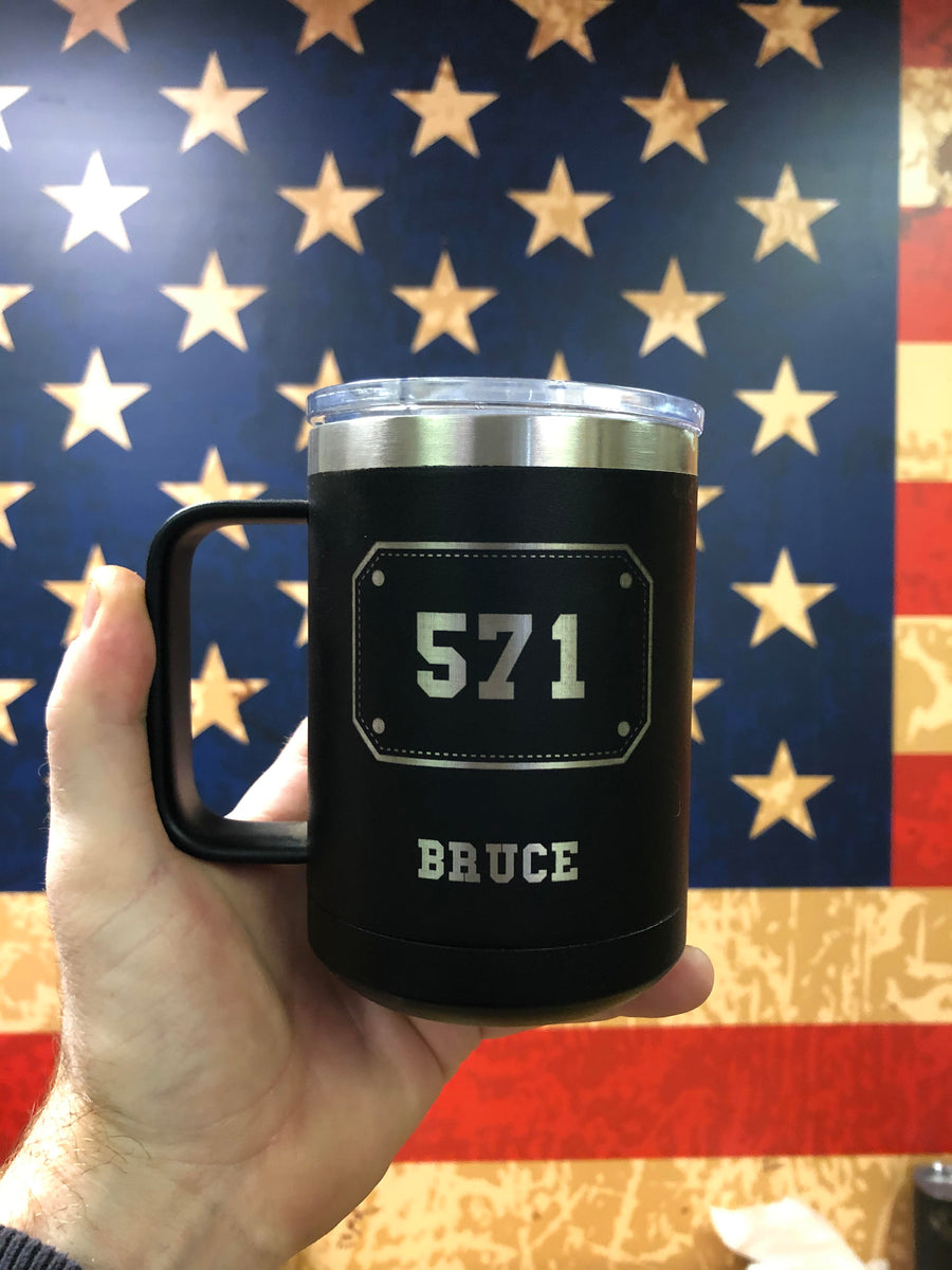 20oz Mug - Shield Design