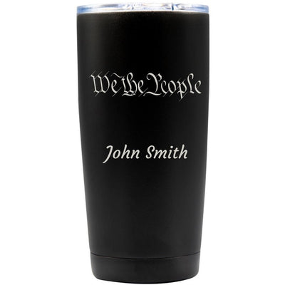 20oz Tumbler - Art and Text