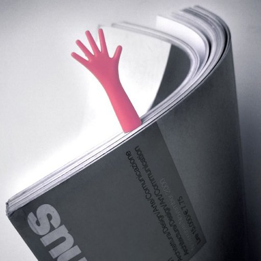 Helping Hand Bookmark (4 pack)