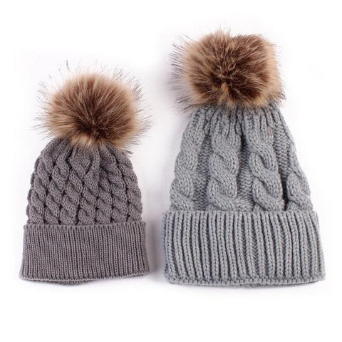 Mommy & Me Matching Beanie Set