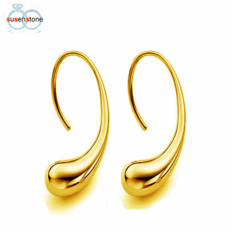 Image of Elegant Fashion 925 Sterling Silver Women Ear Stud Earrings